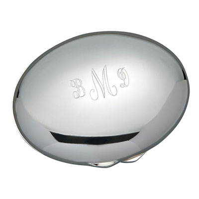 Oval Mirrored Compact