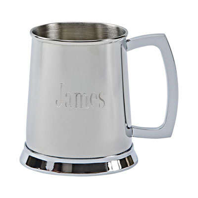 Stainless Steel Tankard - polished finish