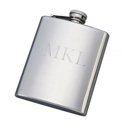 Stainless Steel Flask with Matte Finish 8oz