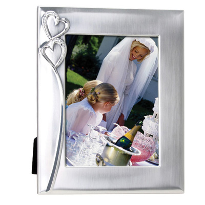 """Hearts"" Photo Frame in Two Sizes"
