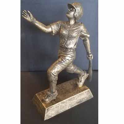 Baseball/Softball Female Resin Figure Trophy
