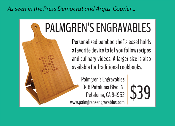 Personalized Chef's Easel Special